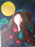 Goddess - I Am Woman - Acrylic