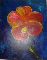 Blooms - Hibiscus Float - Acrylic
