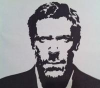 Sharpie - Hugh Laurie - Marker