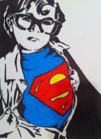 Sharpie - Superman - Marker