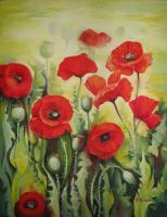 Decorative - Poppies 2 - Acrylic