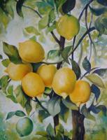 Decorative - Lemons - Acrylic