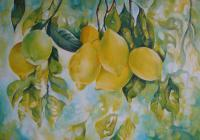 Decorative - Golden Fruit - Acrylic