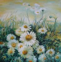 Decorative - Flowers Field - Acrylic