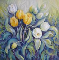 Decorative - Tulips - Acrylic