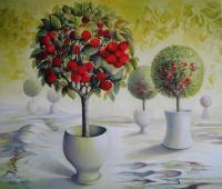 Decorative - Cherry Orchard - Acrylic