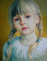 Portrait - Child - Oil