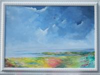 Irish Land And Seascape - The Palette Of Ireland - Acrylic On Board