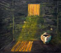 Room Paintings - Cell Room - Oil On Canvas