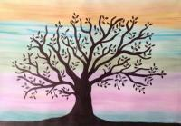 Watercolor - Tree - Watercolor