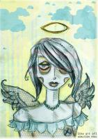 On Paper - Next Door Angel - Pencil On Paper