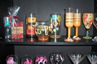 Hand-Painted Glassware - Hand-Painted Glassware - Acrylic Glass Paint
