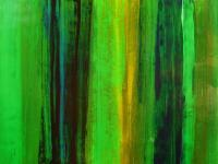 Chocolate Mint - Acrylic Paintings - By Richard And Kim Bouchard, Abstract Painting Artist
