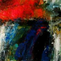 Untitled 2 - Mixed Media Paintings - By Richard And Kim Bouchard, Abstract Painting Artist