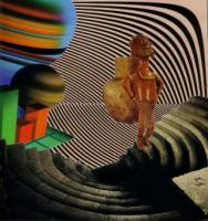Surreal - An Invisable Citizen Of The In Between - Collage