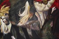 Tributes - Tribute To Vasnetsov Three Bogatir - Acrylic