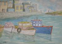 Seascapes - Porthleven - Water Colour