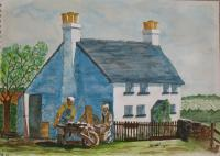 Buildings - My Old Cottage - Water Colour