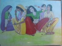 Original - Sringar - Water Colour