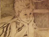 Openhearthgallery - Daydreaming - Pencil And Paper