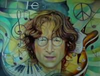 Original - John Lennon - Oil