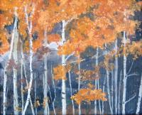 Landscapes - Rocky Mountain Autumn - Oil On Canvas
