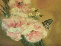 Butterfly Beauty - Oil Paintings - By Raymond Doward, Realism Painting Artist