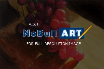 Miniatures - Grapes - Sold - Oil