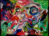 Abstract - Abstracts By Ali-Freedom Of Color - Acrylic