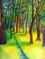 Oil Paintings - Ashton Gardens - Oil On Canvas