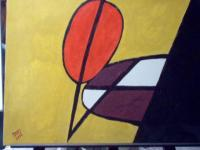 Paintings - Composition 2 - Acyrlic