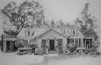 Home Renderings - Southview Drive - Pen And Ink