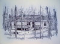 Home Renderings - Neighbors Home - Pen And Ink
