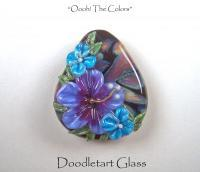 Oooh The Colors - Glass Glasswork - By Susan Elliot, Lampwork Glass Beads Glasswork Artist
