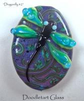 Lampwork Beads - Dragonfly 2 - Glass
