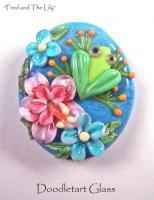 Lampwork Beads - Fred And The Lily - Glass