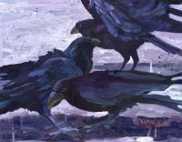 Taking Flight - Oil On Board Paintings - By D Matzen, Representational Painting Artist