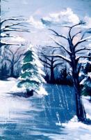 2008 - Old Man Winter - Painting