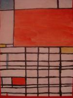 Artist - Piet Mondrian - Water Color