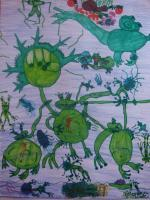 My World - Frogs - Markers