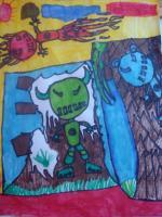 My World - Aliens On Earth - Markers