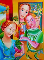 My Art - The Family - Acrylic On Canvas