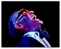 Ray Charles - Digital Painting Digital - By Kevan Tollefson, Digital Digital Artist