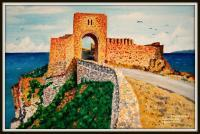 Painting - Kaliakra Fortress - Oil On Canavas