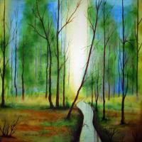 2010 Art Work - Nature - Oil Painting