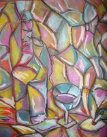 Abstract - Incandesence - Pastels