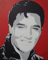 Pop Art - Elvis - Acrylic
