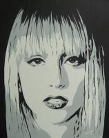 Pop Art - Lady Gaga - Acrylic