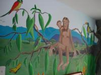 Murals - Aidens Mural - Acrylic Paint