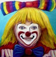 Portraits - Clown - Pastels